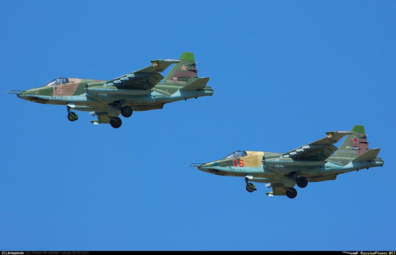 sukhoi 25 avion d'attaque  101203