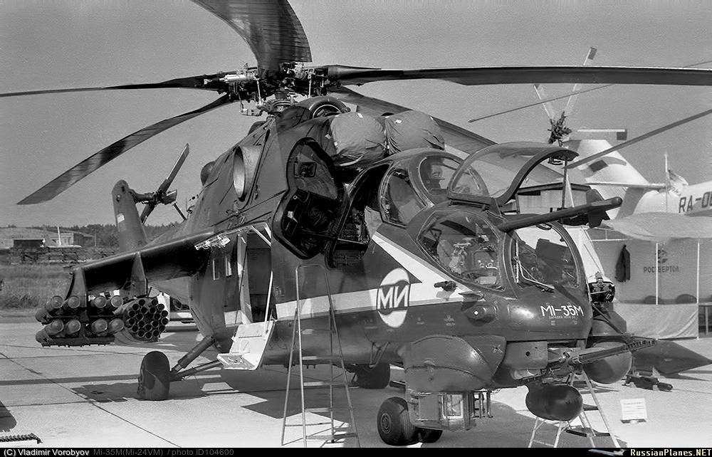Mi-24/35: Opciones de modernización para el Hind 104600