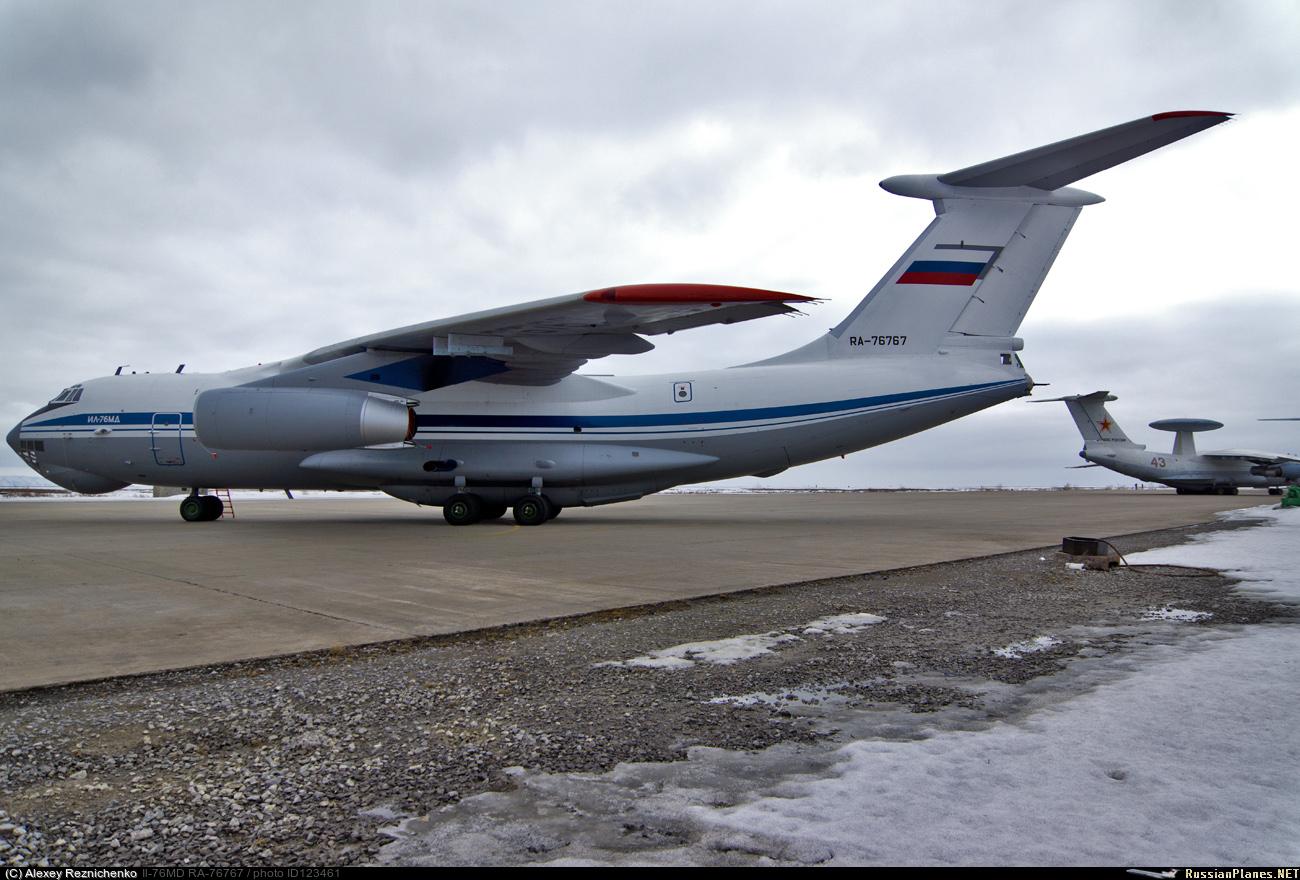 Avión de carga y transporte militar Ilyushin IL-76MD-90A (IL-476) 123461
