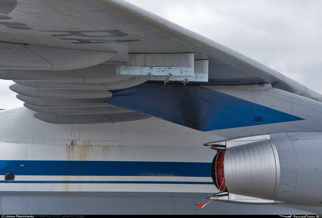 Avión de carga y transporte militar Ilyushin IL-76MD-90A (IL-476) 123462