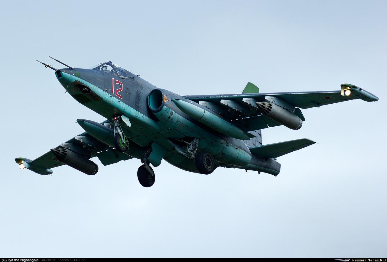 sukhoi 25 avion d'attaque  140068