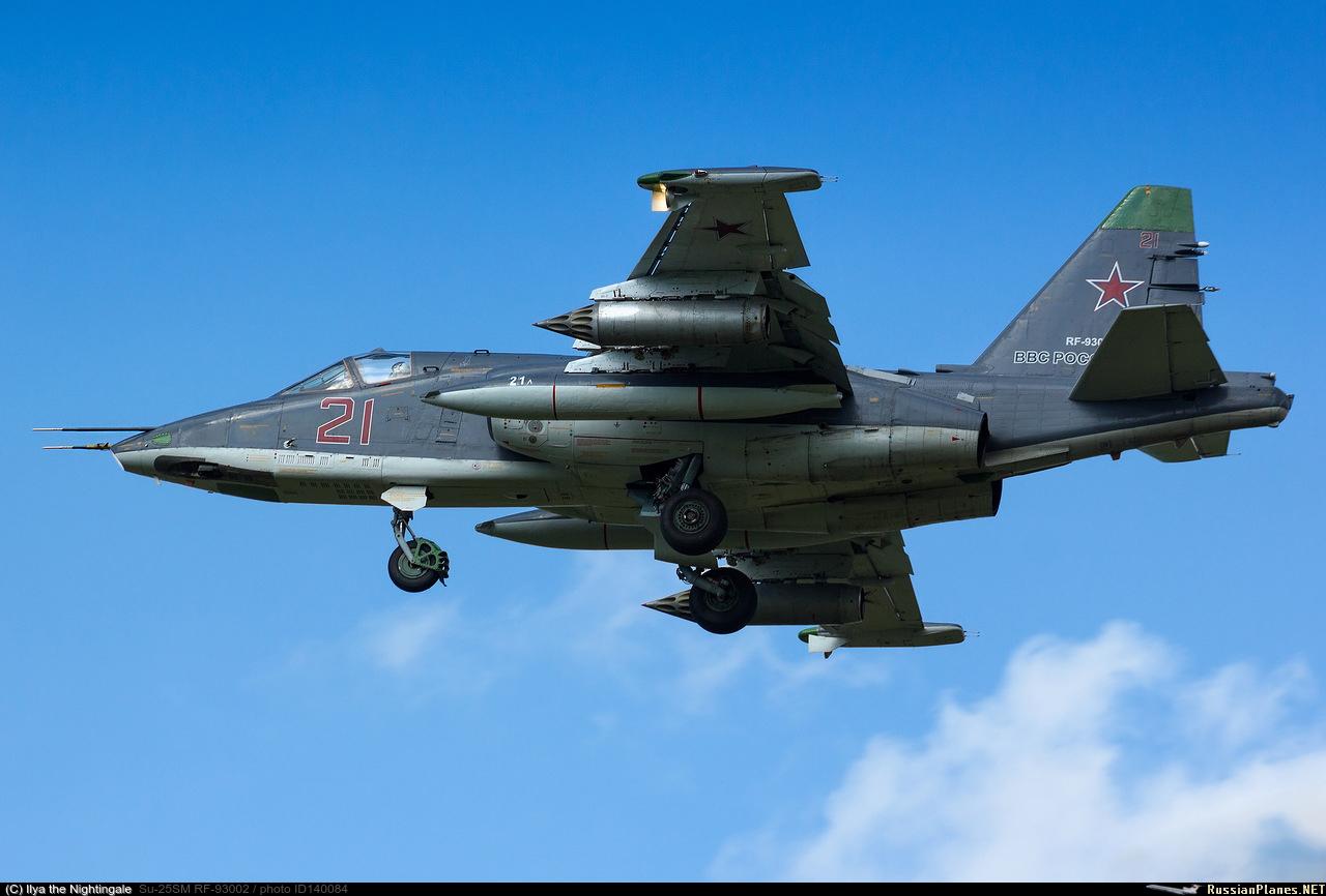 sukhoi 25 avion d'attaque  140084