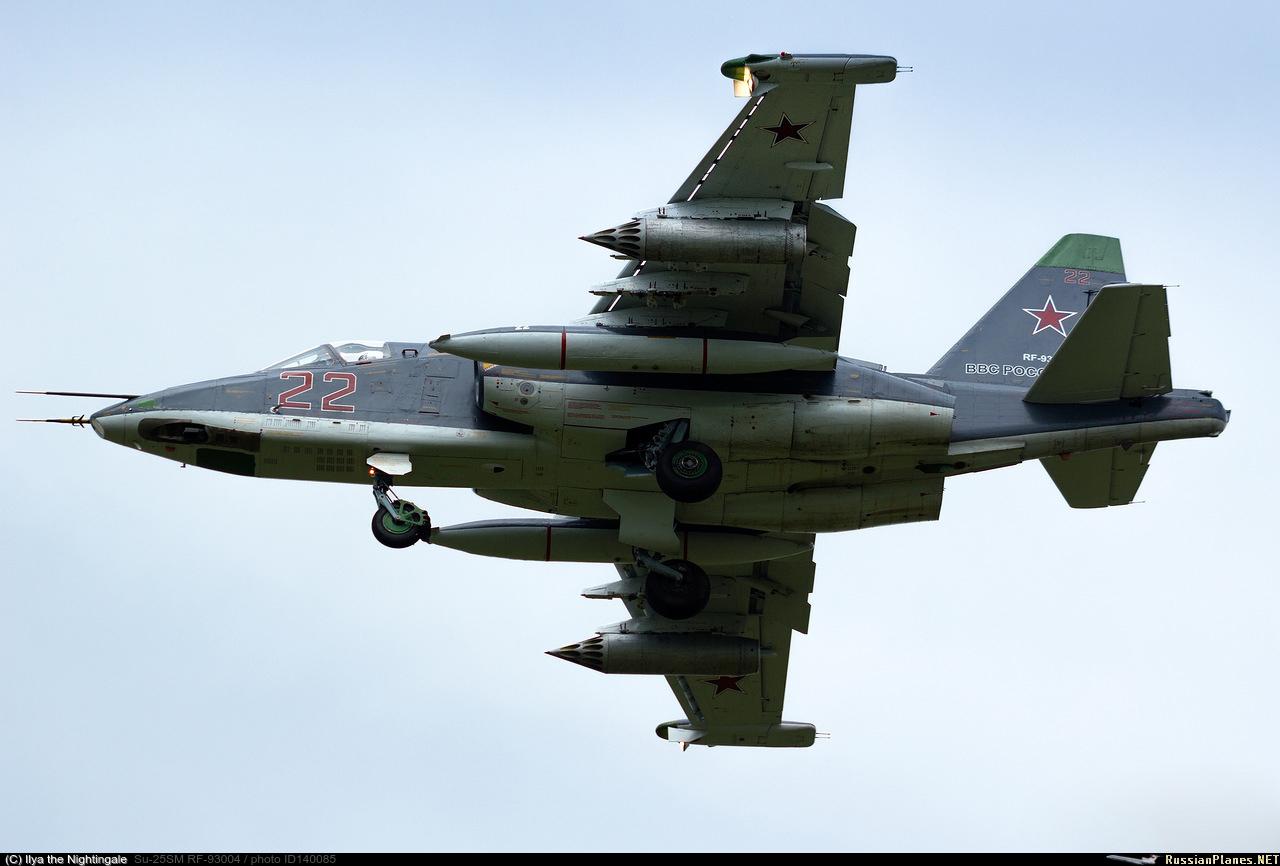 sukhoi 25 avion d'attaque  140085