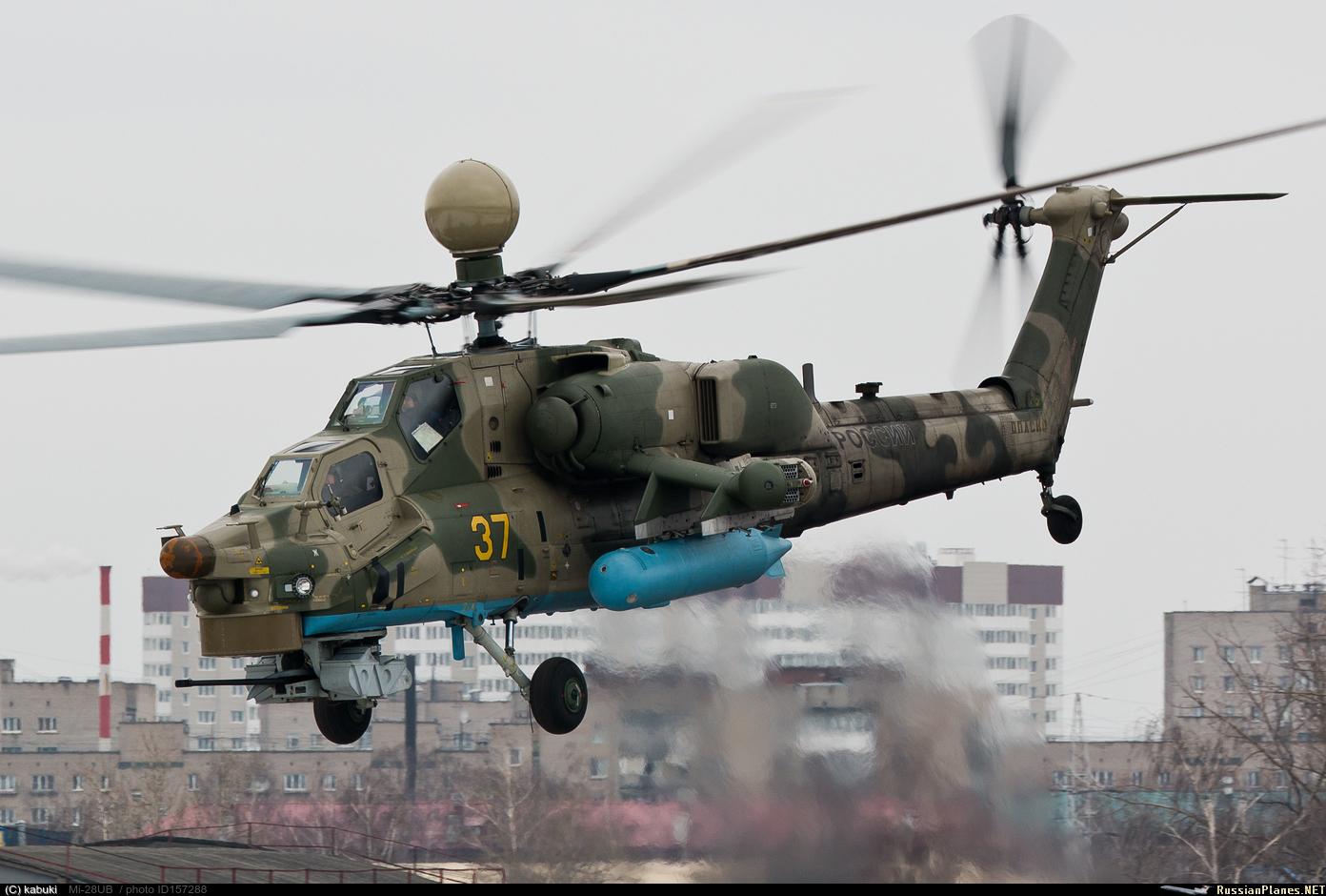 Контракты Министерства обороны России на 24 вертолета Ми-28УБ и два Ми-26