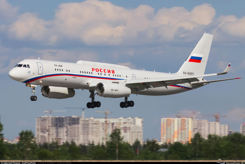 """""""Ростех"""" заказал три самолета Ту-214"""