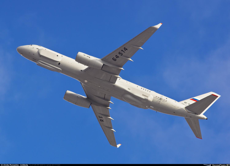 В Сирию прибыл самолет Ту-214Р