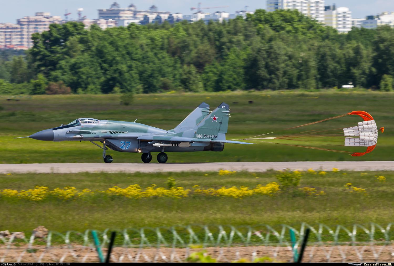 Новые МиГ-29СМТ ВКС России