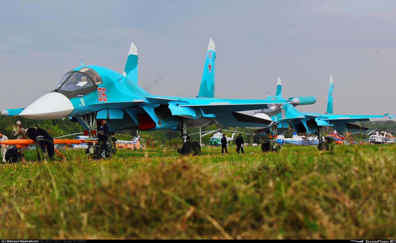 Еще шесть Су-34 переданы ВКС России
