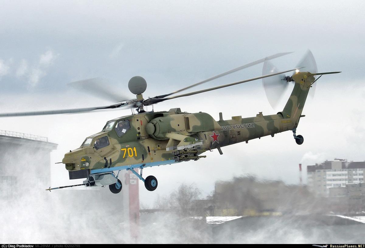 Министерство обороны России заключило контракт на установочную партию вертолетов Ми-28НМ