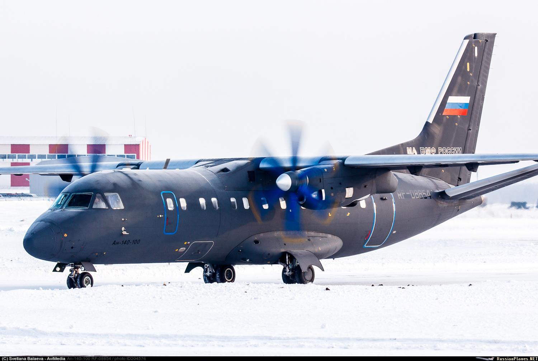 Авиация Тихоокеанского флота получила самолет Ан-140-100