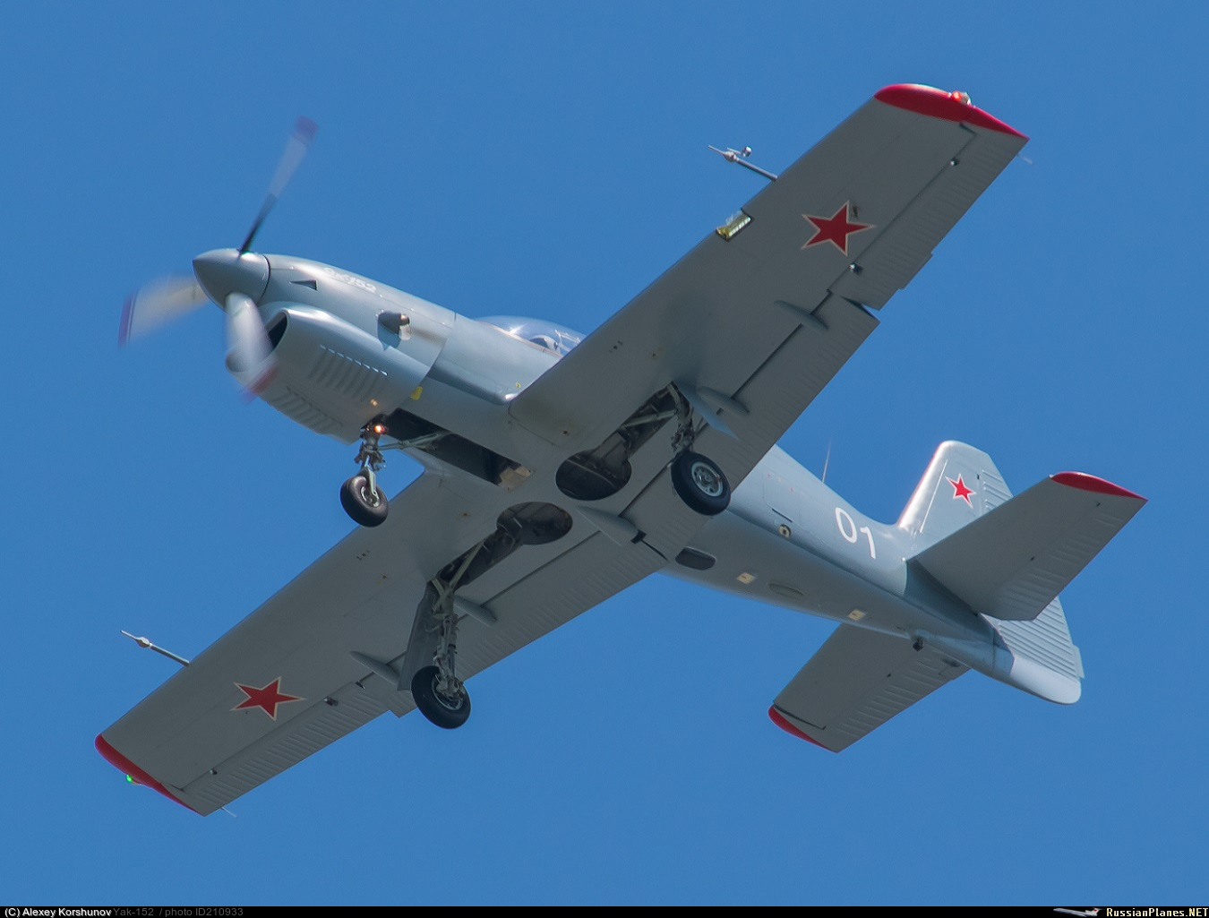 Yak-152 Trainer Aircraft  - Page 3 210933