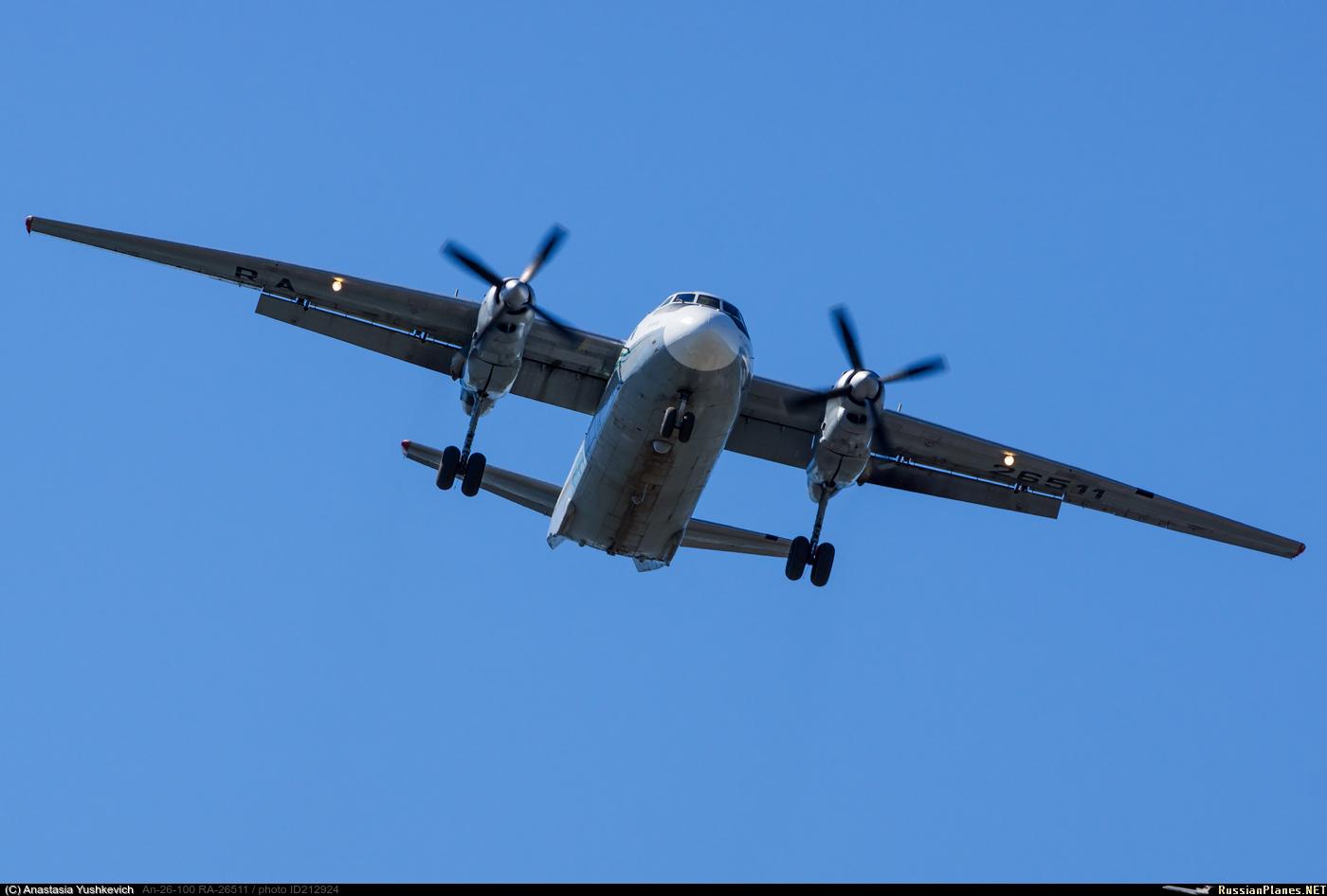 ГосНИИ ГА может получить статус разработчика для самолетов Ан-24 и Ан-26