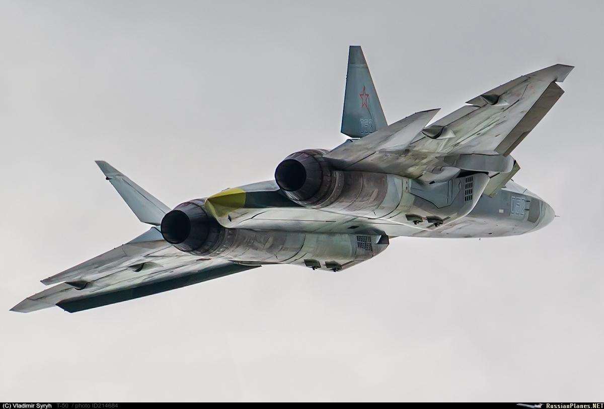 Индекс Су-57 для истребителя Т-50 официально подтвержден