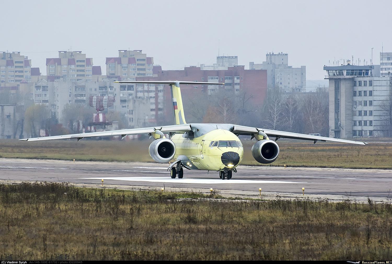 Самолет Ан-148 поступил в 30-й отдельный транспортный смешанный авиационный полк в Ростове-на-Дону