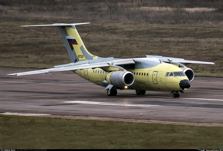 Двенадцатый Ан-148 для Министерства обороны России
