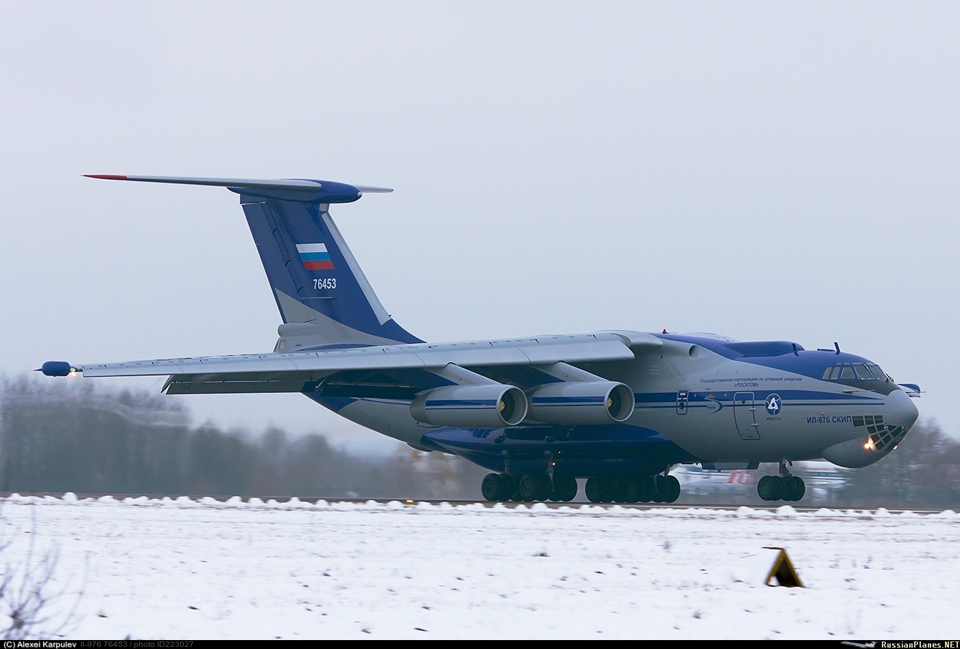 IL-76 Special-Mission Modifications 223027
