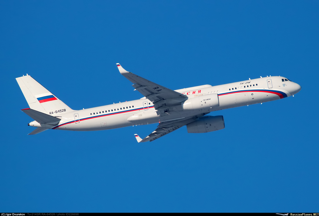 Russian presidential/government aircraft - Page 3 226698