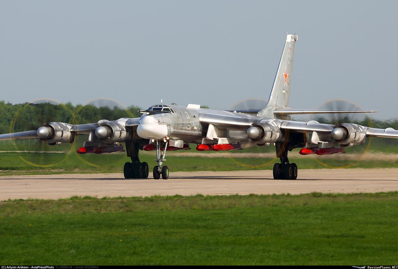 Контракт на создание глубоко модернизированного стратегического бомбардировщика Ту-95МСМ