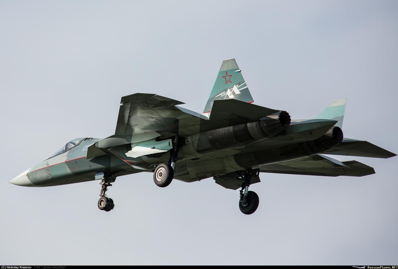 """Продолжение испытаний летающей лаборатории Т-50-2 с двигателем """"второго этапа"""""""