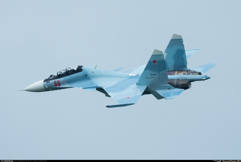 14-й гвардейский истребительный авиационный полк в Курске получил еще два истребителя Су-30СМ