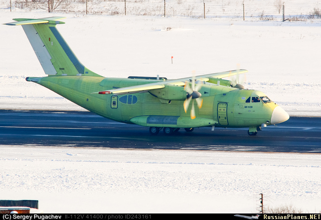 Il-112V needs modifications to meet State specifications