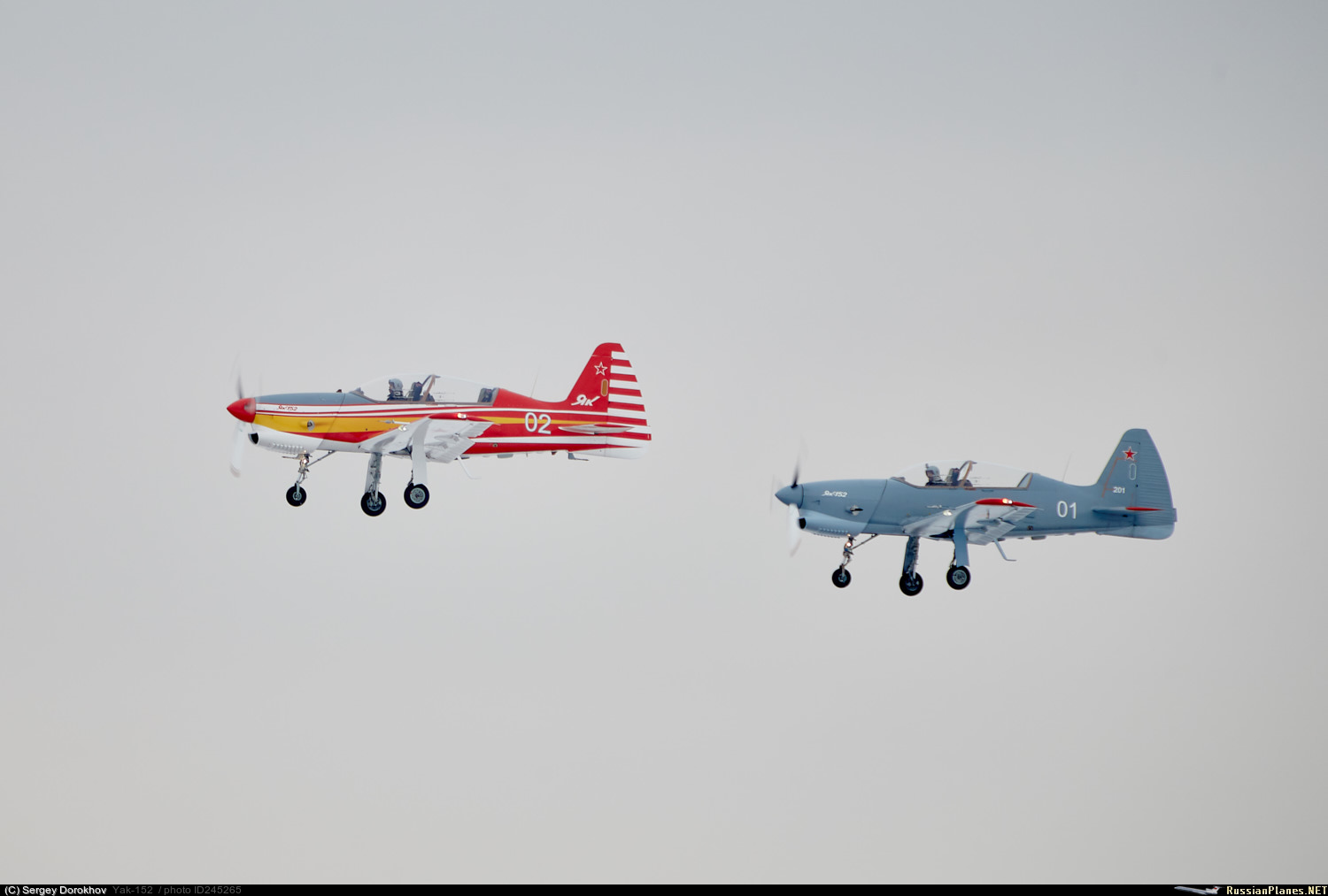Yak-152 Trainer Aircraft  - Page 3 245265
