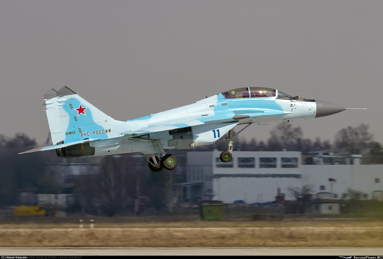 Еще один новый МиГ-35УБ