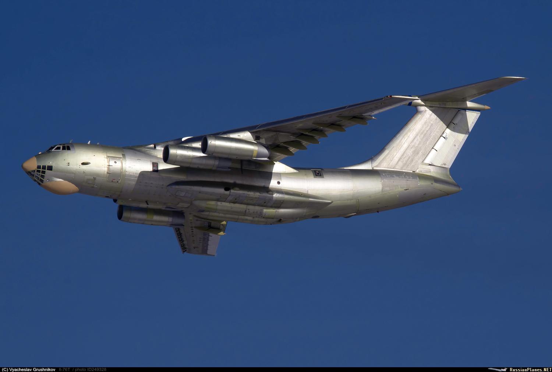 Ilyushin Il-76/78 / A-50 das Companhias Aéreas Árabes Sírias