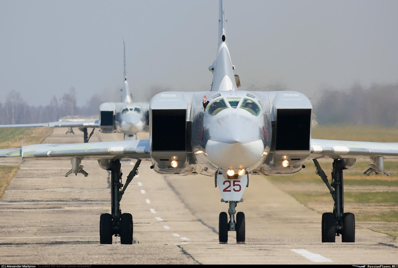 Bombardeiro estratégico russo Tupolev Tu-22M3