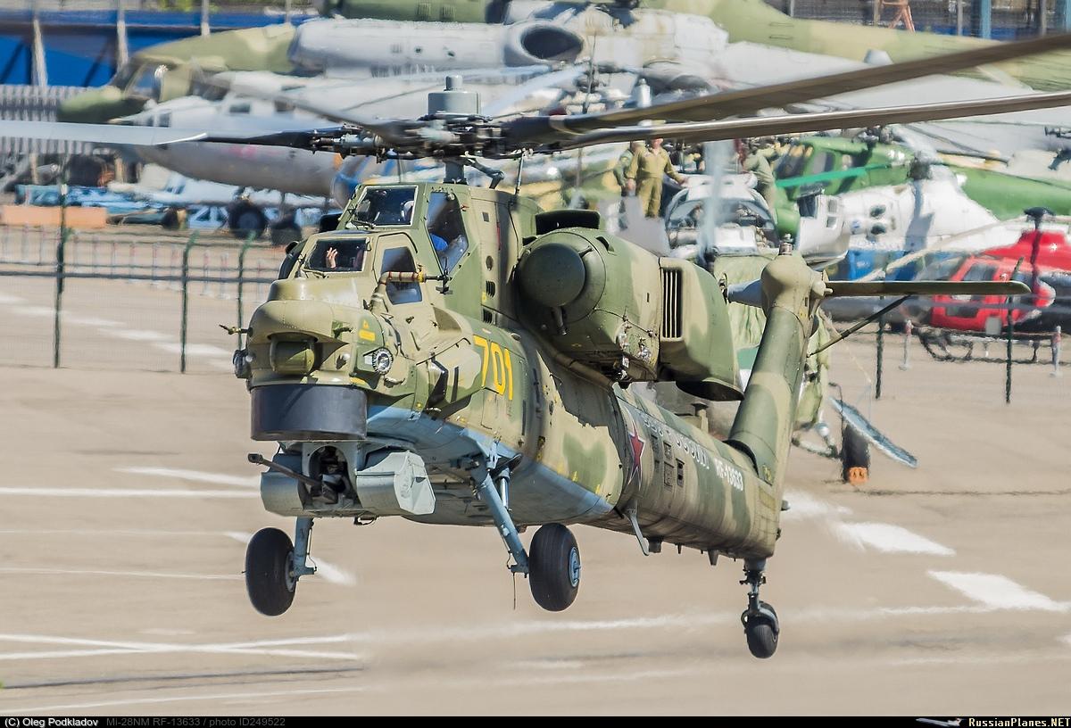 Подписан контракт на поставку Министерству обороны России 98 боевых вертолетов Ми-28НМ
