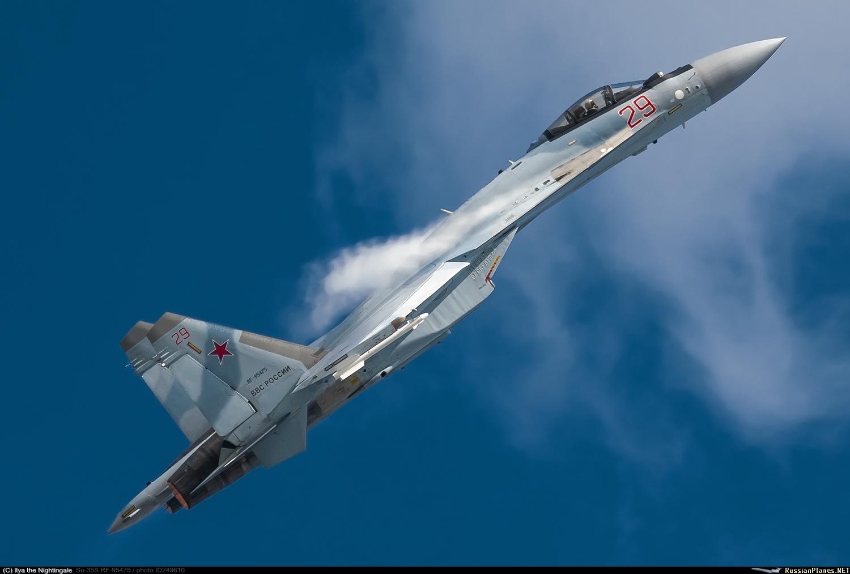 Caça Sukhoi Su-35S