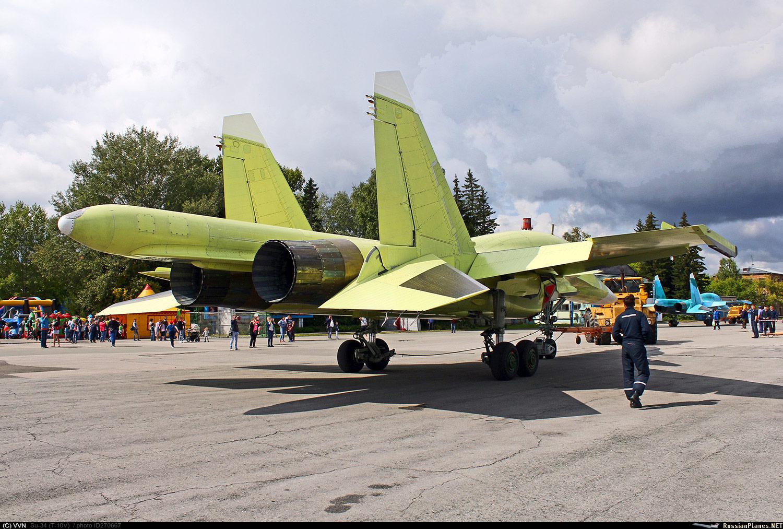 Первый новый Су-34 по новому контракту