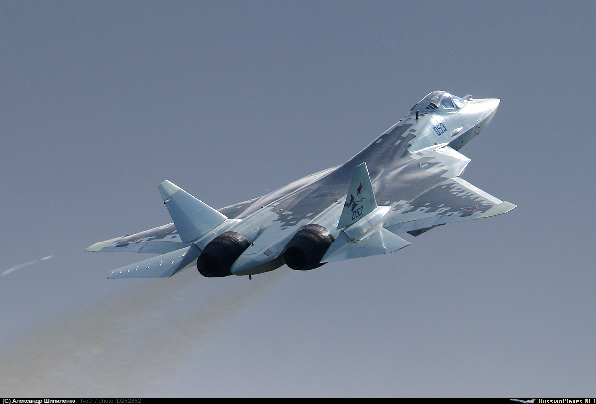 Su-57 Stealth Fighter: News #7 - Page 18 282882