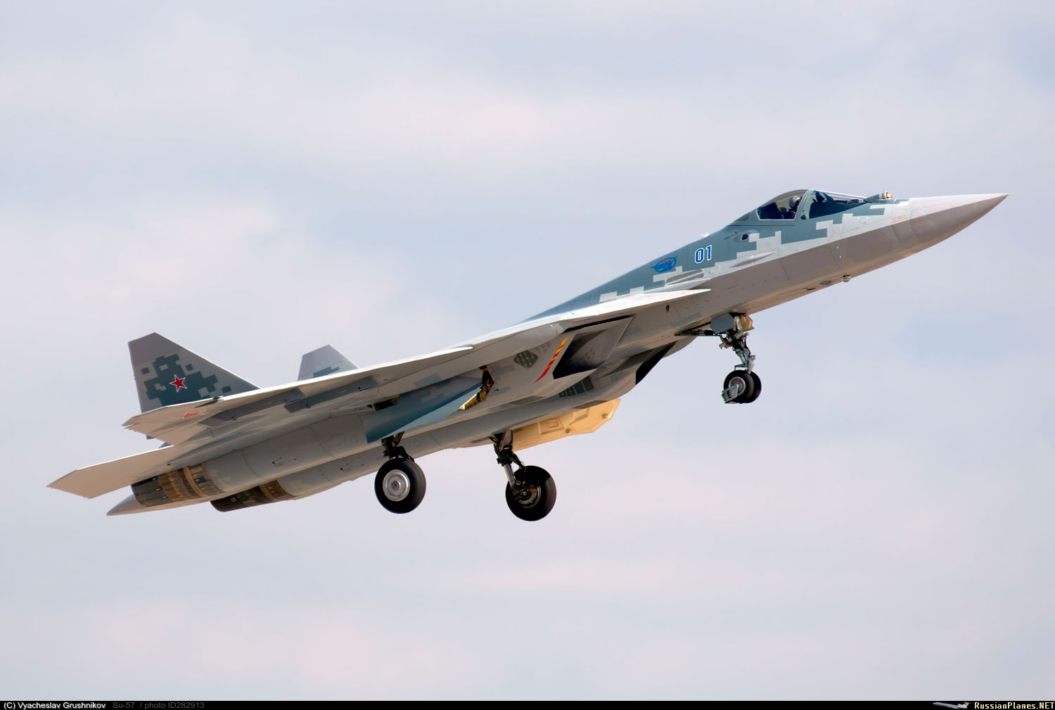 Su-57 Stealth Fighter: News #7 - Page 17 282913