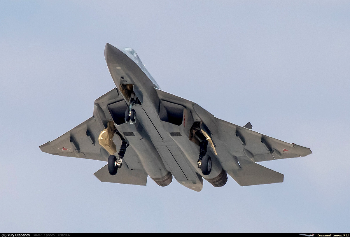 Su-57 Stealth Fighter: News #7 - Page 17 282937