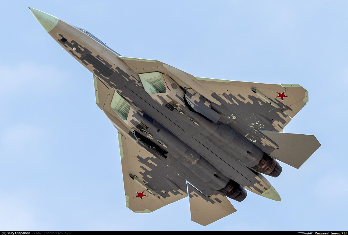 Su-57 Stealth Fighter: News #7 - Page 19 283522