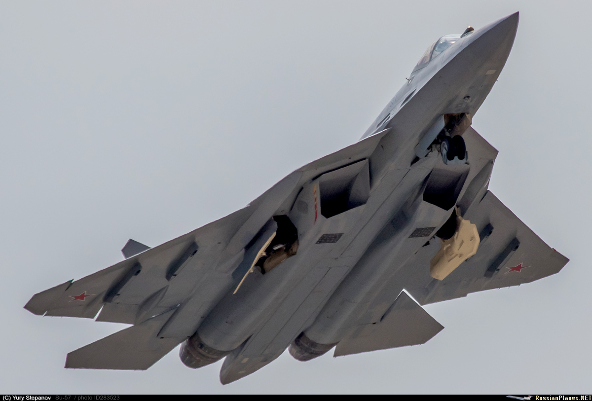 Su-57 Stealth Fighter: News #7 - Page 19 283523