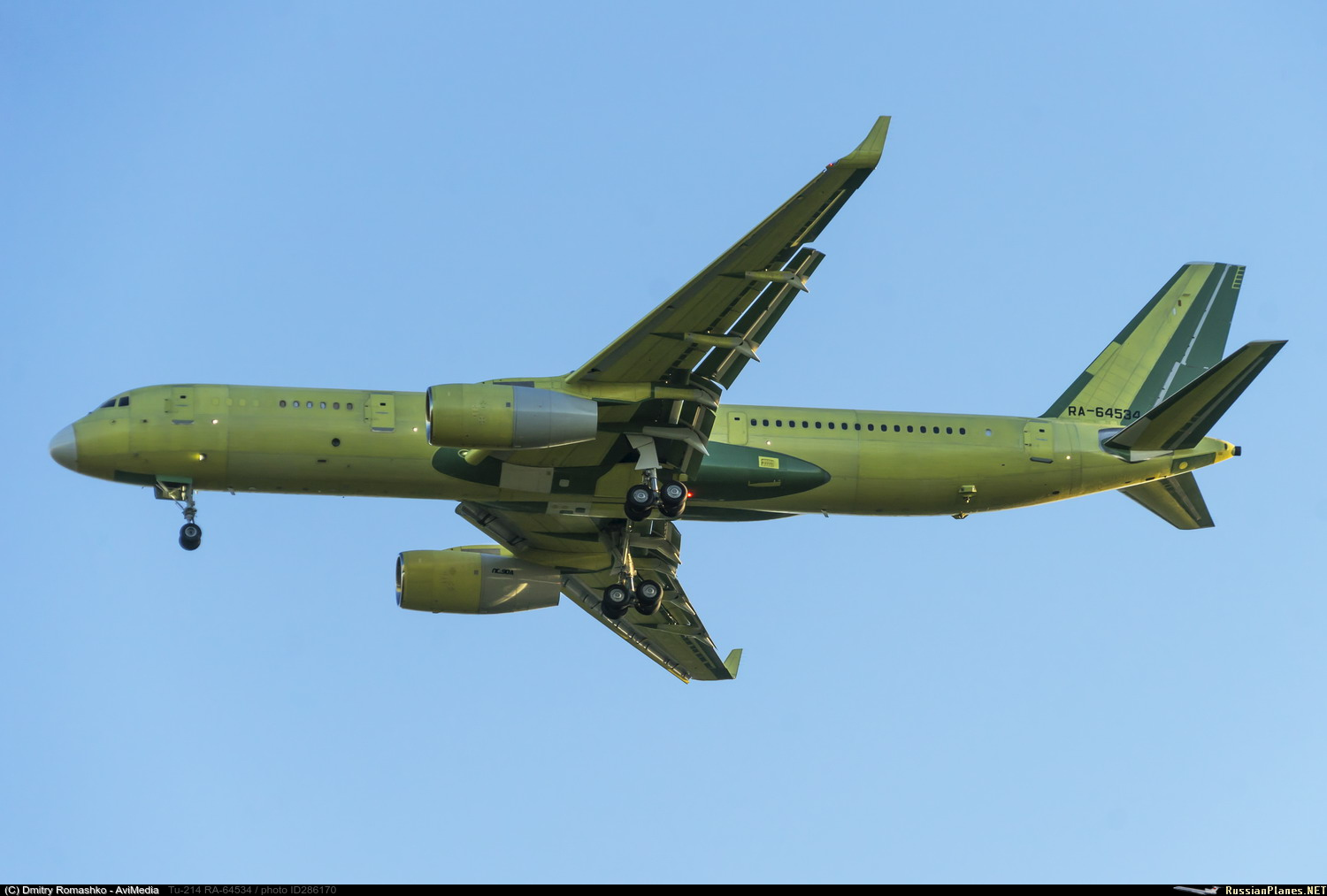 Tu-214R ELINT and other Special-mission versions - Page 2 286170