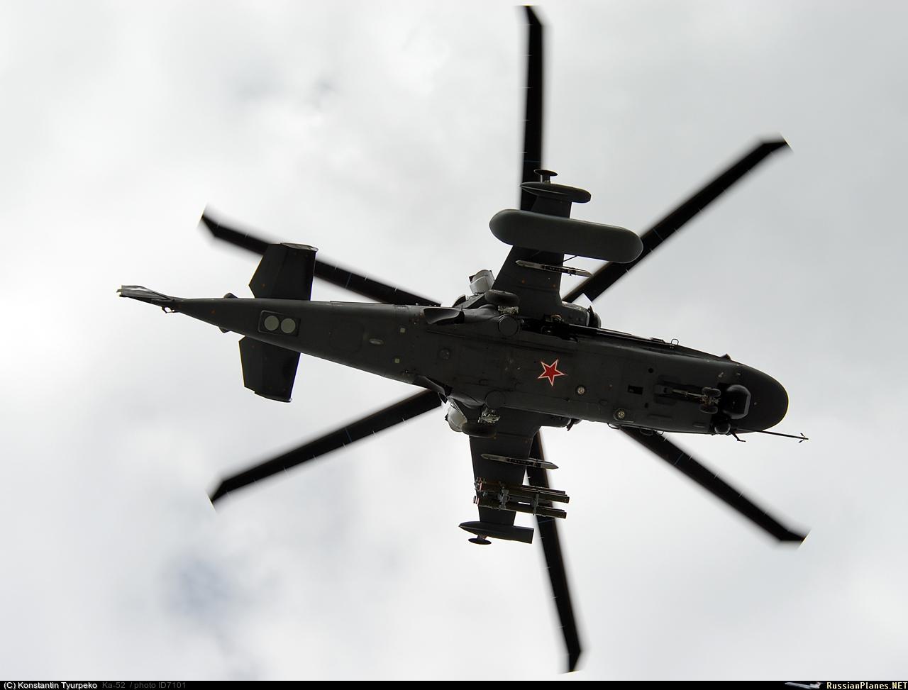 Ka-52 Helicóptero Ruso de Ataque ¡Espectacular!