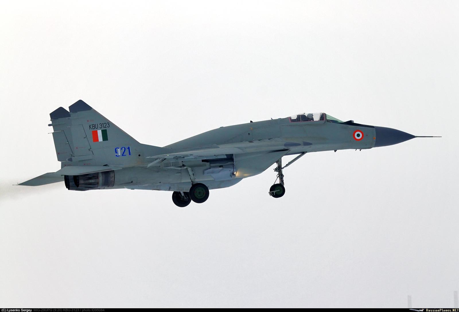 The first modernized in India MiG-29UPG began scheduled flights