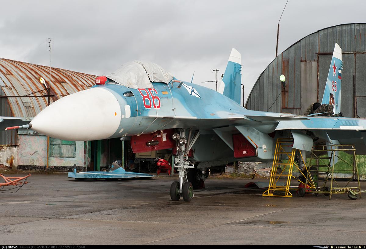 Сухой Су-33 (Су-27К/Т-10К). большая.