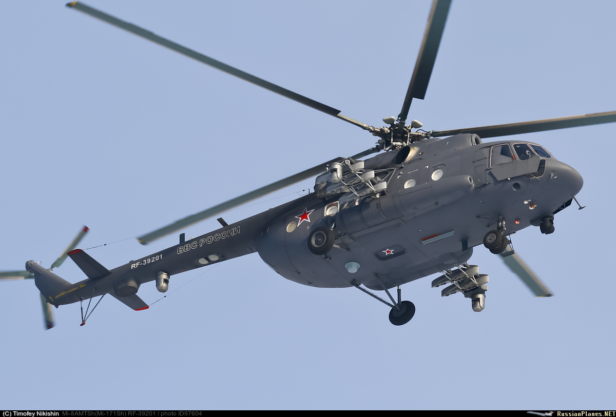 "The Russian Ministry of Defense signed a contract for ten Mi-8AMTSh helicopters, defense, Federation, picking, Russian, Mi8AMTSH, ""salon"", also, helicopters, Russia, headquarters, Armed, General, will be, end, Mi8AMTSH1, number, system, Mi8AMTSHV helicopter"